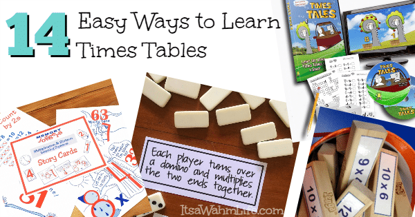 14 Easy Ways To Learn Times Tables Its A Wahm Life