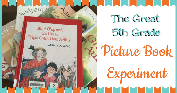 5th grade picture book experiment
